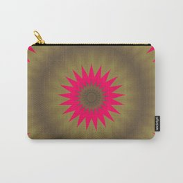 Pinkbrown Mandala 2 Carry-All Pouch