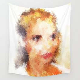 Impressions of Eva Wall Tapestry