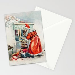 The Night Before Christmas and Other Stories by A L Burt Company (ca 1905) Stationery Cards