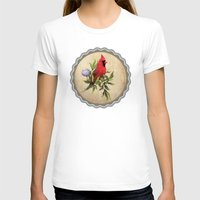 cardinal T-shirts featuring Cardinal by Ludovic Jacqz