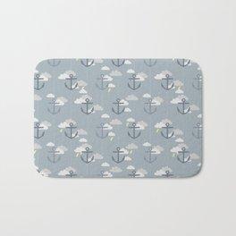 Stormy Nautical Pattern 2 Bath Mat
