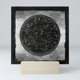 Antique Map of the Night Sky Mini Art Print