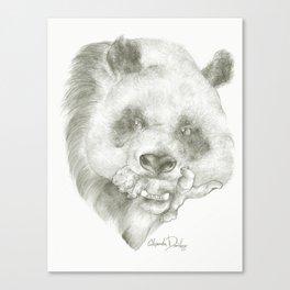Giant Panda Mother Canvas Print