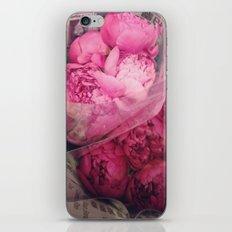 Pink Peony Love iPhone & iPod Skin