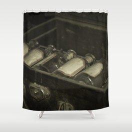 Flasks Shower Curtain