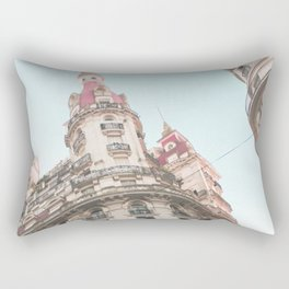 French Sky (Retro and Vintage Urban, architecture photography) Rectangular Pillow