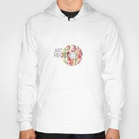 record Hoodies featuring Art Record by kartalpaf