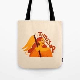 TIME'S UP by Maia Faddoul Tote Bag