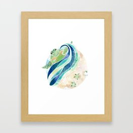 Turtles of Sanibel Framed Art Print