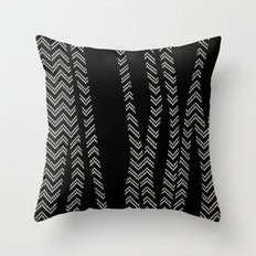 Chevron and Zebra Throw Pillow