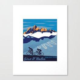 giro d italia Canvas Print