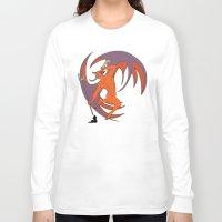diablo Long Sleeve T-shirts featuring Garita del Diablo by Sanfeliu