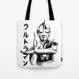 Waterbrushed Robot Hero Tote Bag