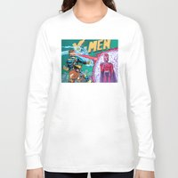 x men Long Sleeve T-shirts featuring X-Men! by thechrishaley