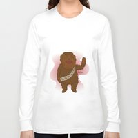 chewbacca Long Sleeve T-shirts featuring chewbacca by Lalu - Laura Vargas