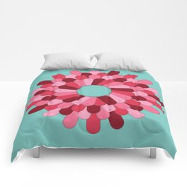 Patched Up Circle Comforters