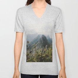 Blue Mountains - Landscape Photography Unisex V-Neck