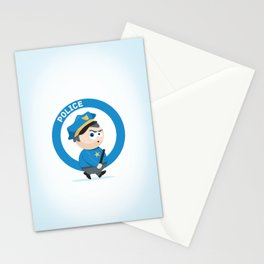 Police Stationery Cards