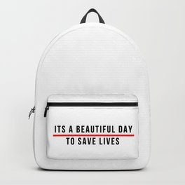 Save Lifes Backpack