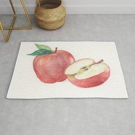 Apple and a Half Rug