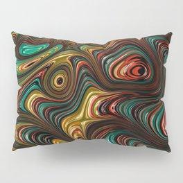 Trippy Fractal Pillow Sham