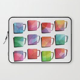 Coffee Mugs - Rainbow Colors Laptop Sleeve