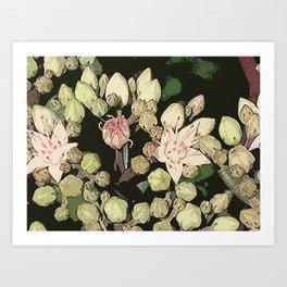 Pretty Pinks Art Print