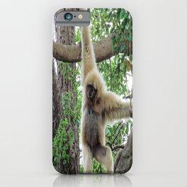 Just Hangin Around iPhone Case