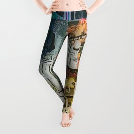 Collaboration Collage Leggings