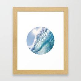 Wave 7 Framed Art Print