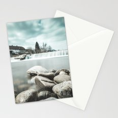 Waterfall on Sora river, Medvode Stationery Cards