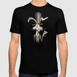 Tim & Jill's Mr. Hasenpfeffer Victorian Style Portrait T-shirt