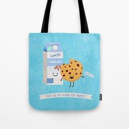 Milk and Cookie Tote Bag