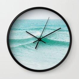 Faded Ocean II Wall Clock