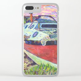 Claude's Boat Clear iPhone Case