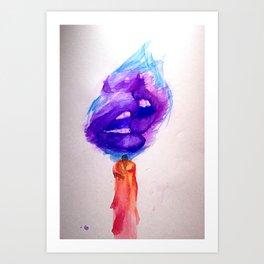 Candlelit #2 Art Print