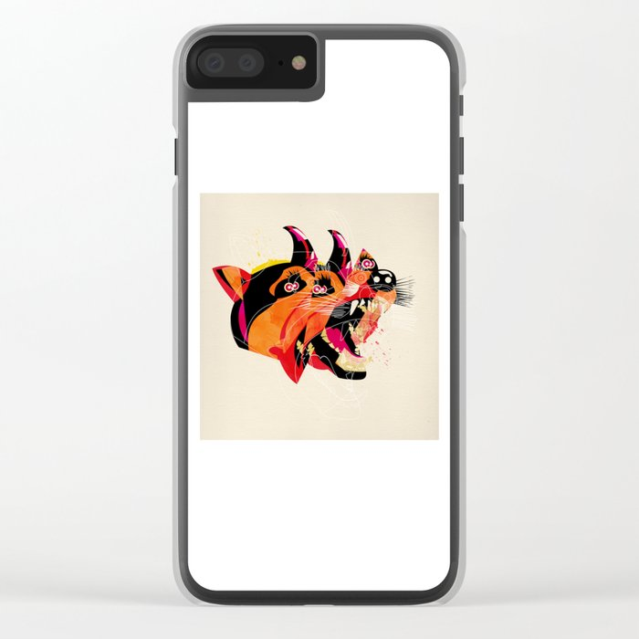 can/can Clear iPhone Case