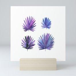 Tropical Leaves Set 3 Mini Art Print