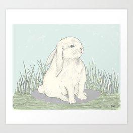 bunny III Art Print