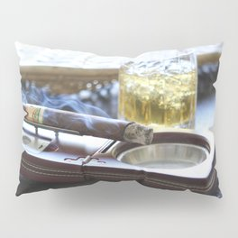 Cigar Time Pillow Sham