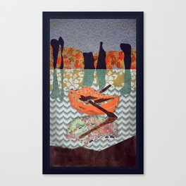 Small Boat  Canvas Print