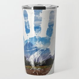 Earth Print Travel Mug