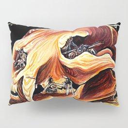 Honey Bear Skull Pillow Sham