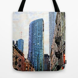 Frankfurt Germany - Red Light Tote Bag