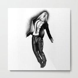 Invisible Man Metal Print