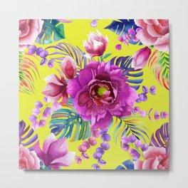 Summer peony bouquet Metal Print