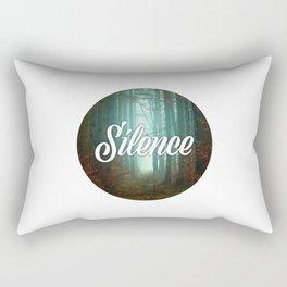 Silence Rectangular Pillow