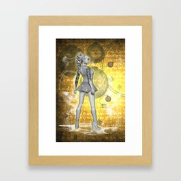 Whispers in Time .. fantasy art Framed Art Print