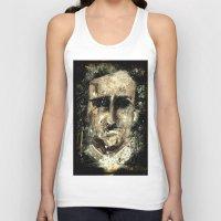 edgar allan poe Tank Tops featuring Edgar Allan Poe by Anso Strange