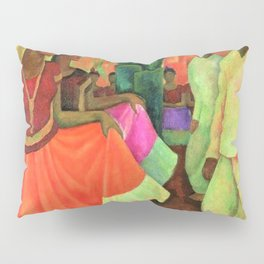 Dance in Tehuantepec by Diego Rivera Pillow Sham